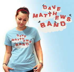 One of Ross' Dave Matthews Band designs