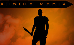 Rudius Media. Also pictured: Russell Crowe's silhouette