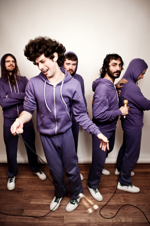 Sydney pop/hip hop band Bluejuice
