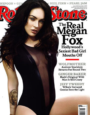 November 2009 issue of Rolling Stone Australia
