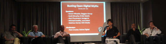 "One Movement ""Busting Open Digital Myths"" panel"