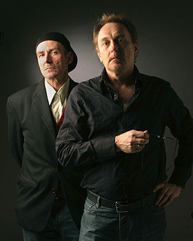 Jeffrey Wegener and Ed Kuepper of Laughing Clowns