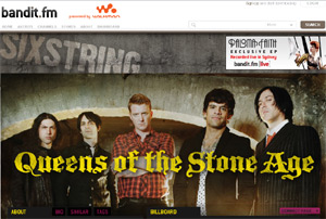 Queens of the Stone Age on Sony's Bandit.fm