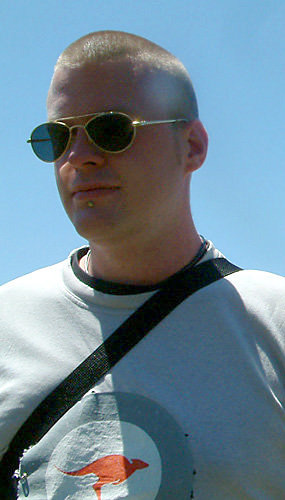 Andrew Ramadge on tour with Laura in 2006