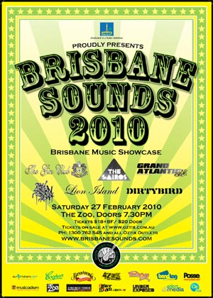 Brisbane Sounds 2010 poster