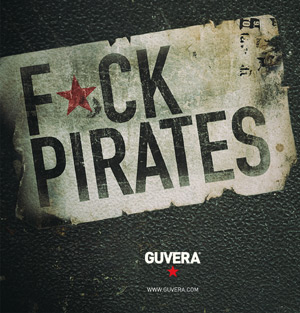 A Guvera advertisement suggesting intercourse with pirates