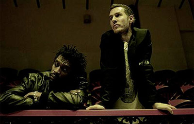 Grant Marshall and Robert Del Naja of Massive Attack