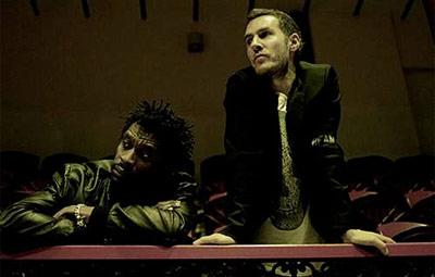 Grant Marshall and Robert Del Naja of Massive Attack
