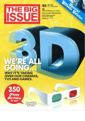 The Big Issue #350 cover