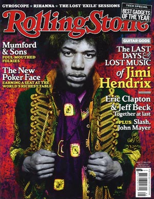 Rolling Stone Australia May 2010 cover