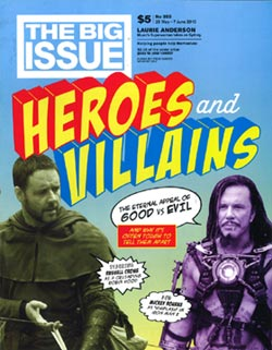 The Big Issue, #355: Heroes and Villains