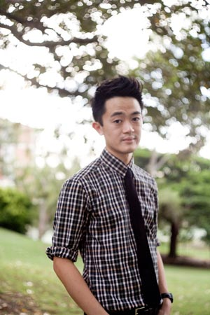 Brisbane writer and author, Benjamin Law