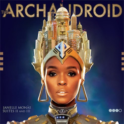 Janelle Mone - The ArchAndroid album cover