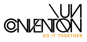UnConvention logo. 'Do It Together'