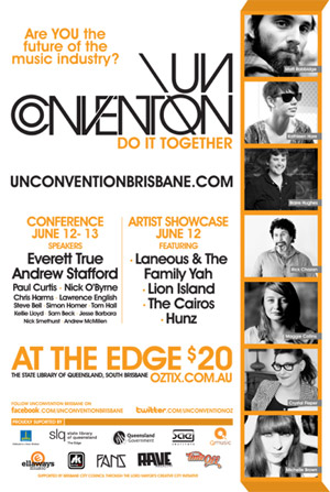 UnConvention Brisbane 2010 poster