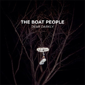 'Dear Darkly' album cover by Brisbane/Melbourne band The Boat People