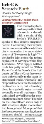 Rolling Stone album review, August 2010: Itch-E & Scratch-E