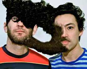 Regurgitator's Ben Ely and Quan Yeomans, circa 2010