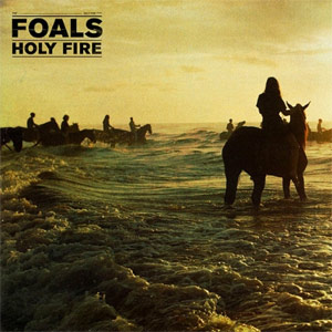 Foals - 'Holy Fire' album cover, reviewed in The Weekend Australian by Andrew McMillen, February 2013
