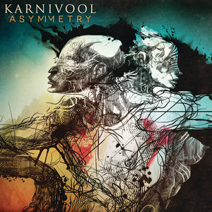 Karnivool - 'Asymmetry' album cover, reviewed in The Weekend Australian by Andrew McMillen, July 2013