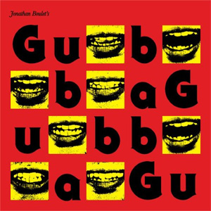 Jonathan Boulet – 'Gubba' album cover, reviewed in The Weekend Australian by Andrew McMillen, July 2014