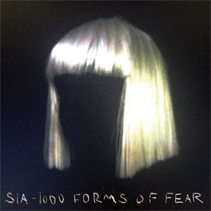 Sia – '1000 Forms of Fear' album cover, reviewed in The Weekend Australian by Andrew McMillen, July 2014