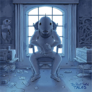 The Peep Tempel – 'Tales' album cover reviewed in The Australian, October 2014