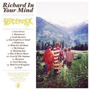 Richard In Your Mind – 'Ponderosa' album cover reviewed in The Australian, September 2014