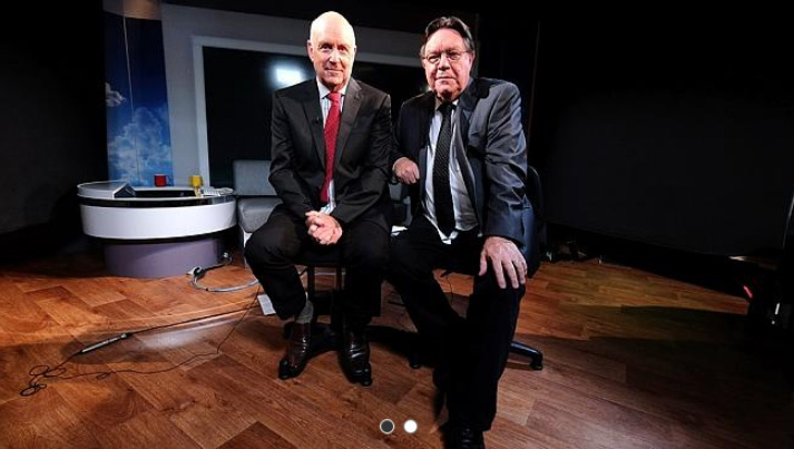 The Weekend Australian Review story: 'Clarke & Dawe: In The Line of Satire' by Andrew McMillen, February 2015. Photo credit: Luis Enrique Ascui
